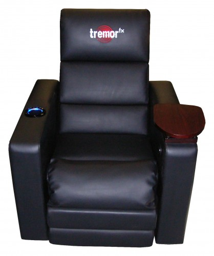 GearDiary TremorFX Home Theater Seating by RedSeat Entertainment Brings the Sound to Your Seat