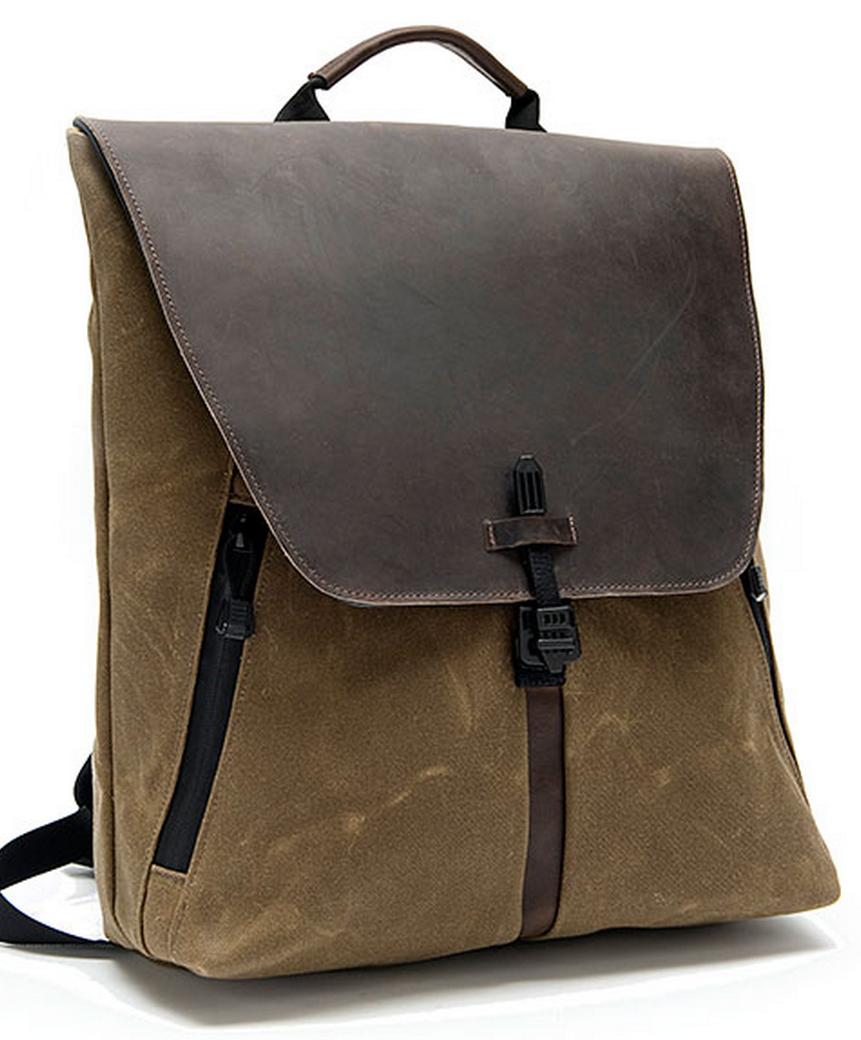 GearDiary Waterfield Staad Is the Best Looking and Most Functional Backpack Ever!