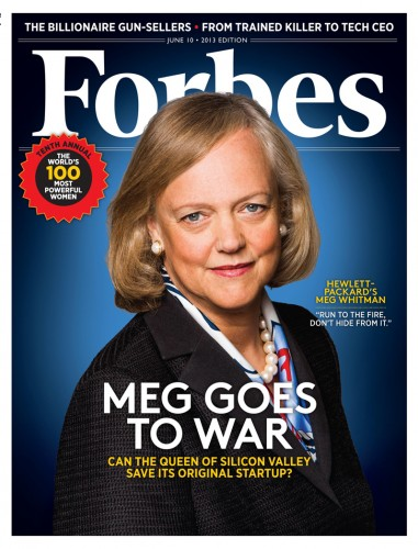 Meg Whitman on the cover of Forbes