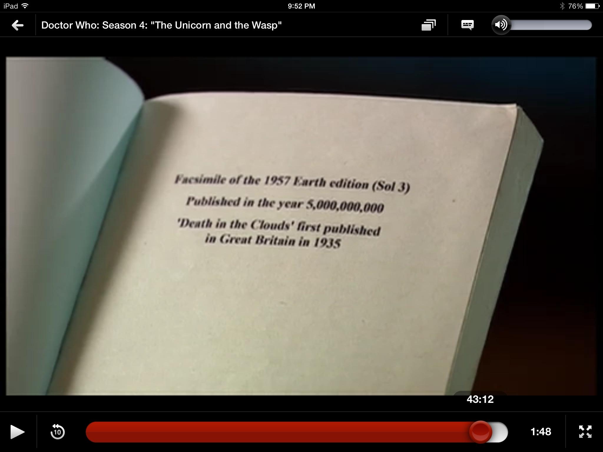 Doctor Who Is Very Bullish on Paperbacks!