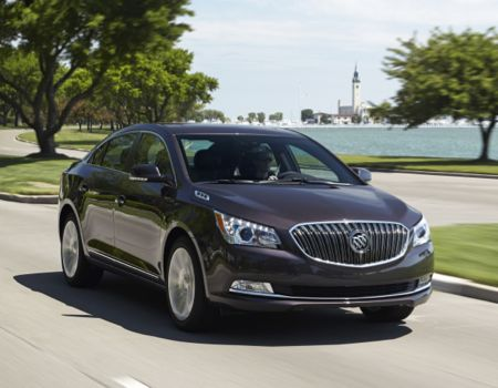 2014 Buick LaCrosse Is Quite the Premium Sedan