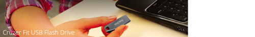 GearDiary Sandisk's Cruzer Fit and Cruzer Force Will Bulk Up Your Laptop Storage Without a Lot of Bulk