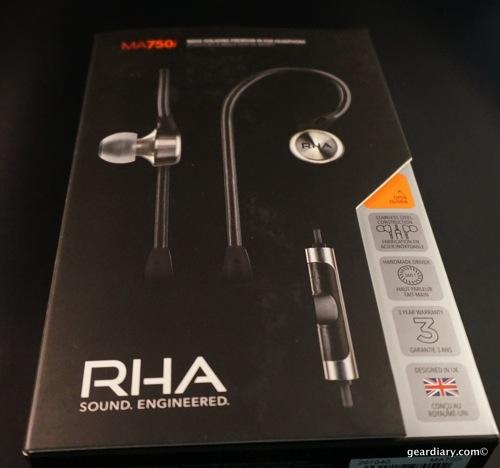 RHA iPhone Gear Headphones