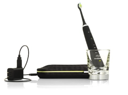 GearDiary What's Black or White and Cleans Your Teeth? Philips Sonicare DiamondClean