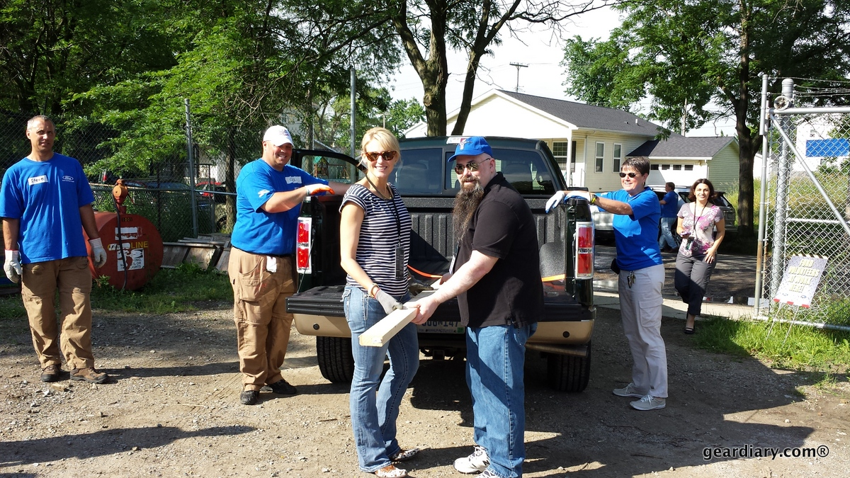 GearDiary Test Driving the 2014 Ford F-150 While Helping Habitat for Humanity - Not a Bad Way to Spend the Day