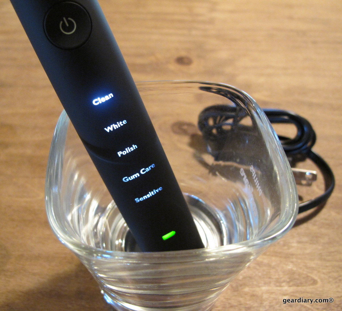 GearDiary Sonicare DiamondClean Sonic Toothbrush Review - Judie & Dan Mouth Off About Oral Hygiene
