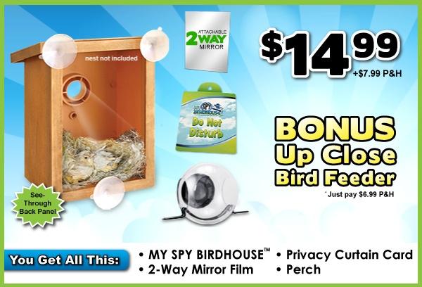 GearDiary My Spy Birdhouse Takes Birdwatching to a Voyeuristic Level
