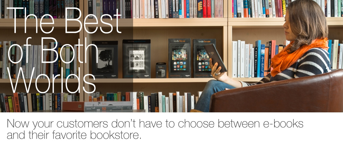 GearDiary Amazon Offers Indie Bookstores a Small Cut to Sell eBooks, But Will Anyone Bite?