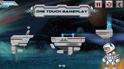 GearDiary New Space Runner Game Galaxy Run Blasts onto iTunes App Store!