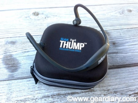 GearDiary QAK ThumpBlu Headphones Review, Freedom From Wires