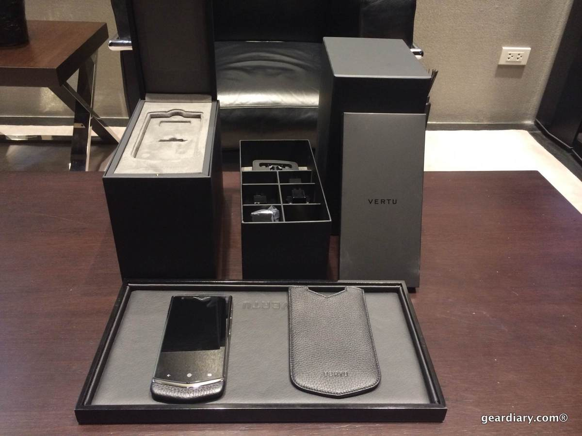 GearDiary Drew Goes Hands-On with the Vertu Constellation