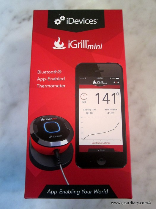 GearDiary Thermoworks and iGrill Mini Help You Check Your Temps