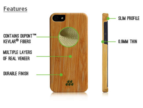 IPhone 5 5s | Wood S | Evutec