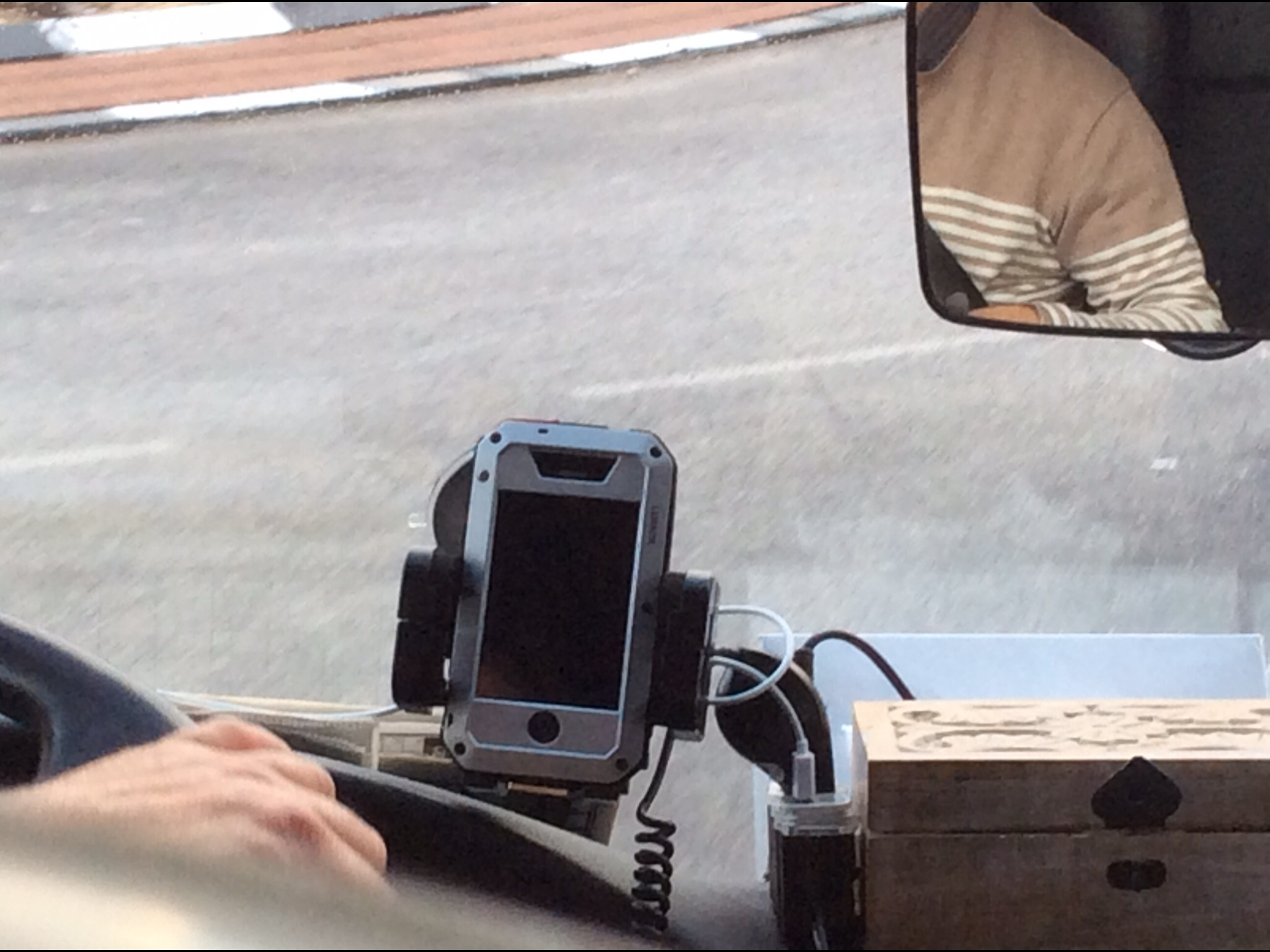 GearDiary The iPhone 5 Case Was a LunaTik; Fortunately, Our Israeli Bus Driver Wasn't
