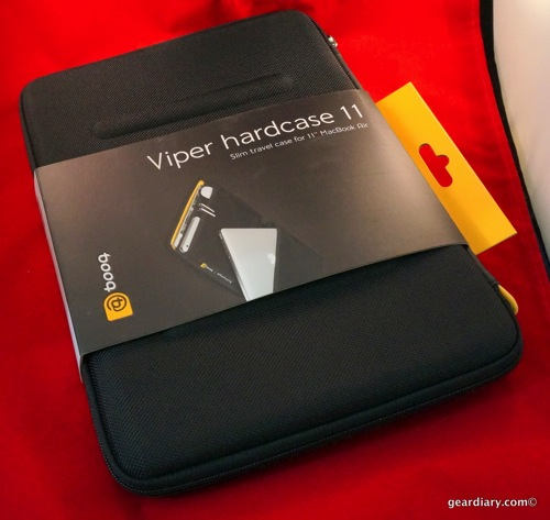 "GearDiary Use an 11"" MacBook air? Check out the booq Viper hardcase 11"