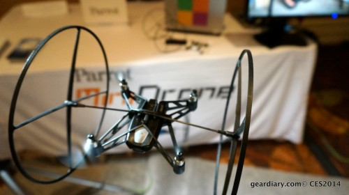 GearDiary Parrot MiniDrone Takes Flight at CES 2014