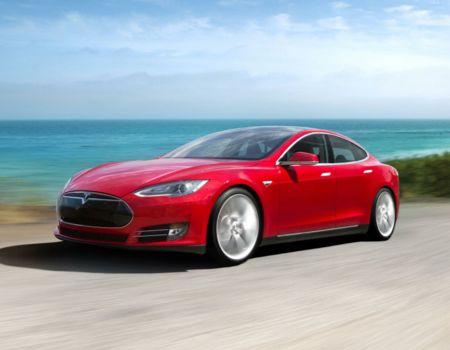 Tesla CES Cars