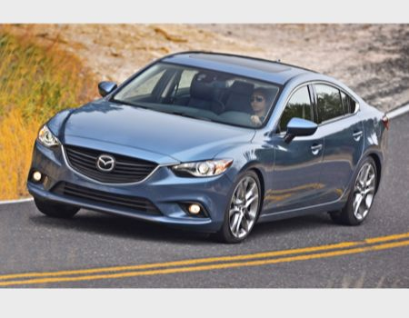 GearDiary 2014 Mazda6 is the New Midsize Sedan Champ