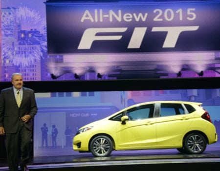 GearDiary Honda Debuts All-New 2015 Fit at NAIAS