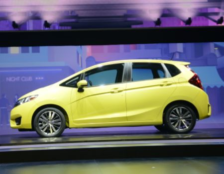 Honda Debuts All-New 2015 Fit at NAIAS