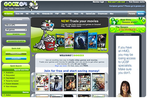 GearDiary Game Trading Site Goozex Seems to Be Gone for Good