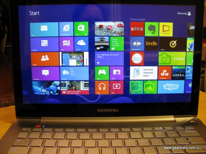 GearDiary Samsung Series 7 Ultrabook Review - Sleek, Stylish and Powerful!