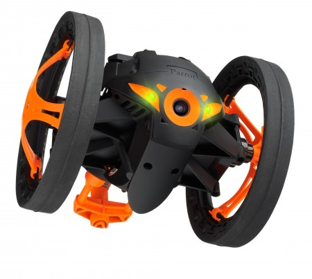 GearDiary Parrot Introduces the Parrot Jumping Sumo - An Insectoid Jumping Robot