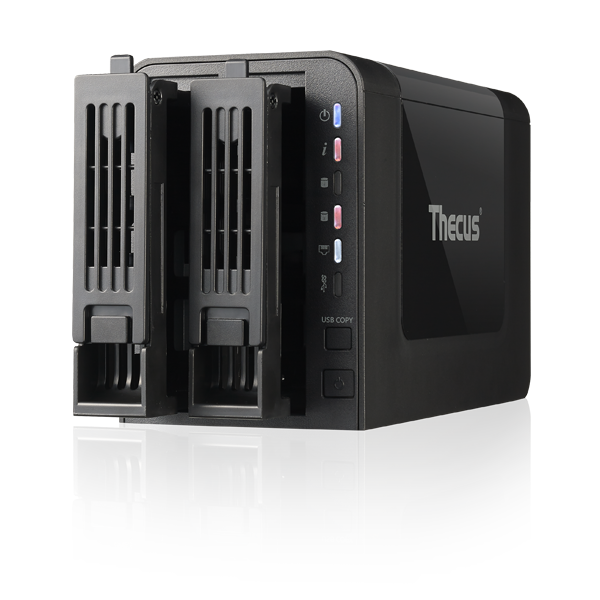 GearDiary Thecus N2310 NAS System Is an Affordable Entry into Advanced Home Data Storage