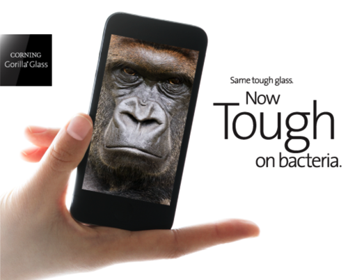 GearDiary Corning Gorilla Glass Is Now Strong AND Germ-Free