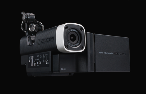 """GearDiary Say """"Cheese"""", Then Check Out the Zoom Q4 Handy Video Recorder"""