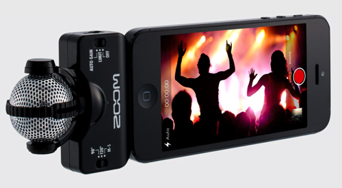 GearDiary With the Zoom iQ5 Your iOS Never Sounded So Good