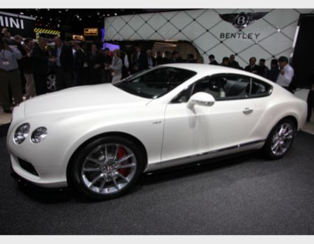 Bentley unveiled its new Continental GT V8