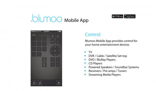 GearDiary Blumoo Home Audio Remote Debuts at CES 2014?