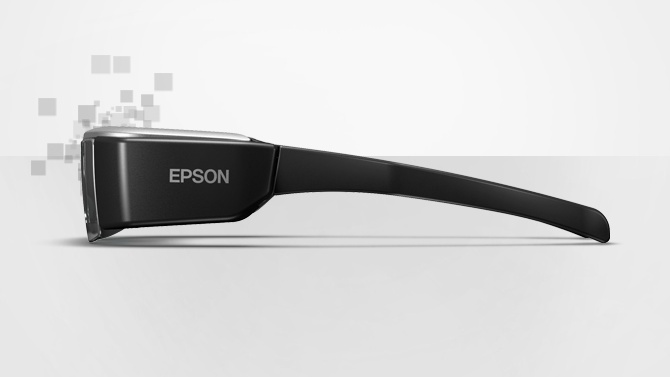 GearDiary Epson Moverio BT-200 Smart Glasses powered by Wikitude SDK at CES 2014