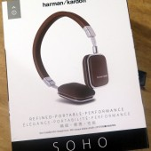 Harman Kardon Soho On-Ear Mini Headphones - Refined and Portable Performers