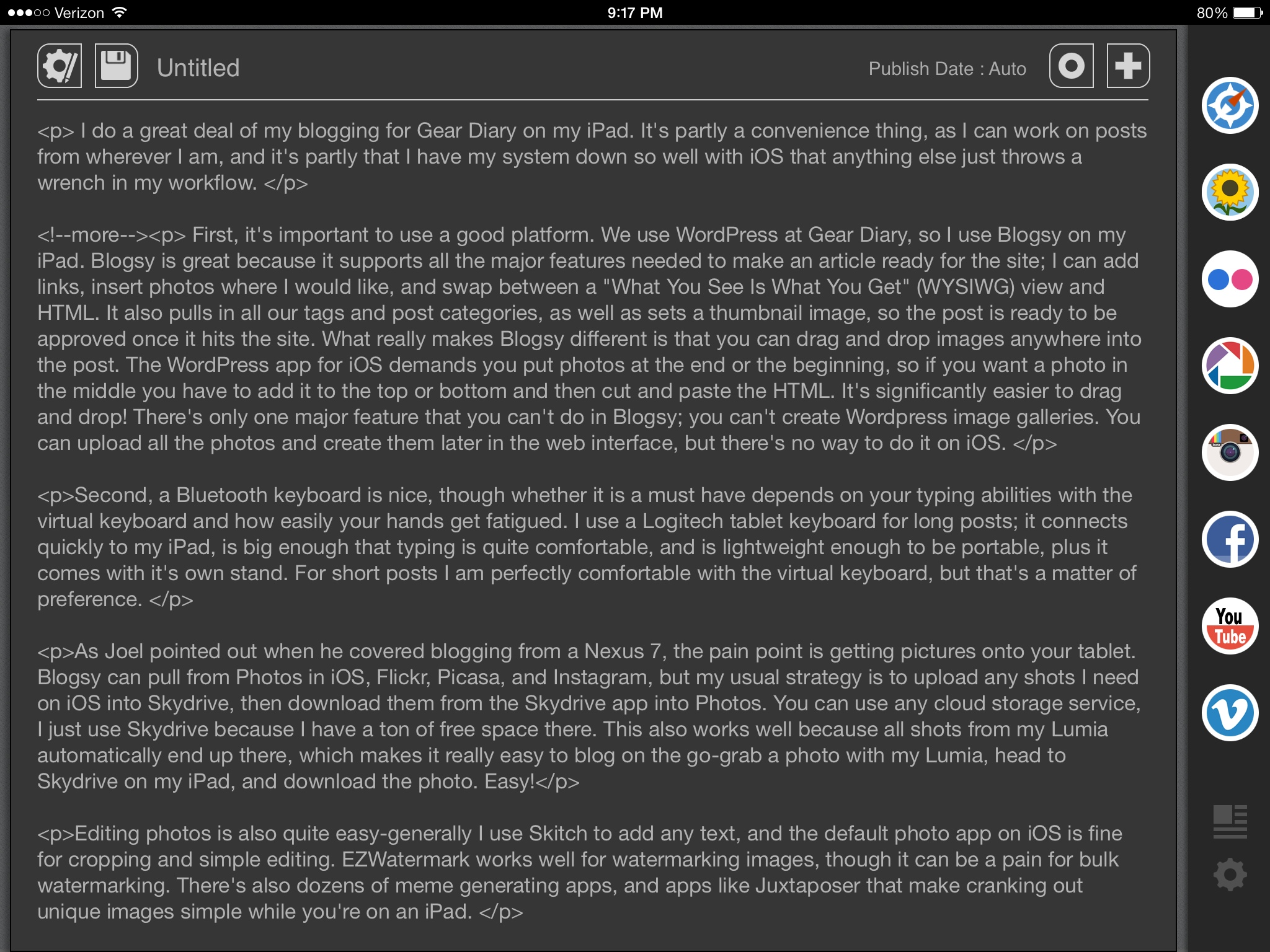 How to Blog on an iPad and Have Fun Doing It!