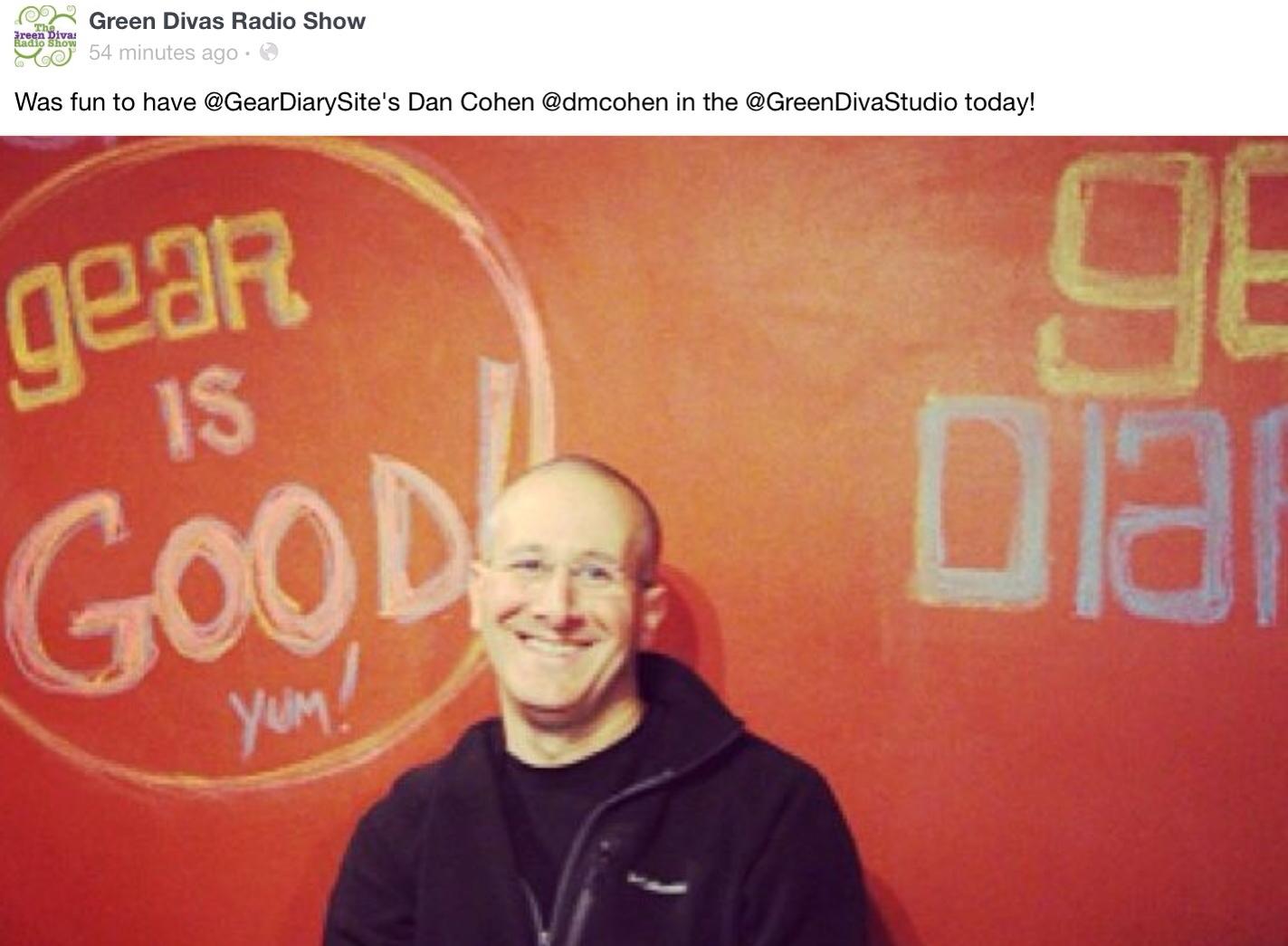 GearDiary Dan Talks #FORDNAIAS on the Green Divas Radio Show