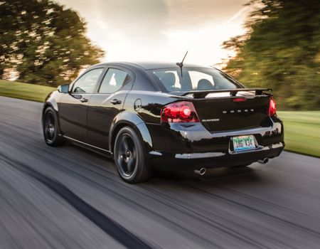 2014 dodge avenger blacktop is the new black tie geardiary. Black Bedroom Furniture Sets. Home Design Ideas
