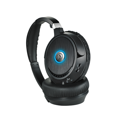 ATH ANC70 QuietPoint® Active Noise cancelling Headphones    Audio Technica US