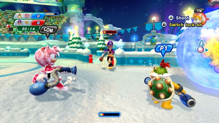 GearDiary Mario & Sonic at the Sochi 2014 Olympic Winter Games Review on Nintendo Wii U