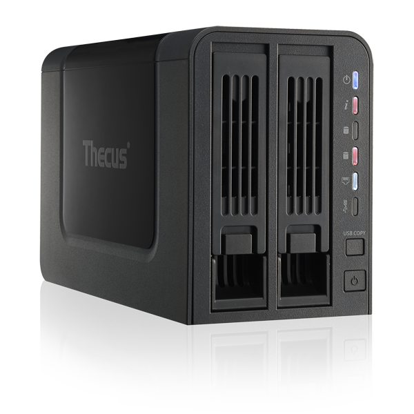 GearDiary Thecus N2310 NAS Review - A Fantastic Entry Level NAS