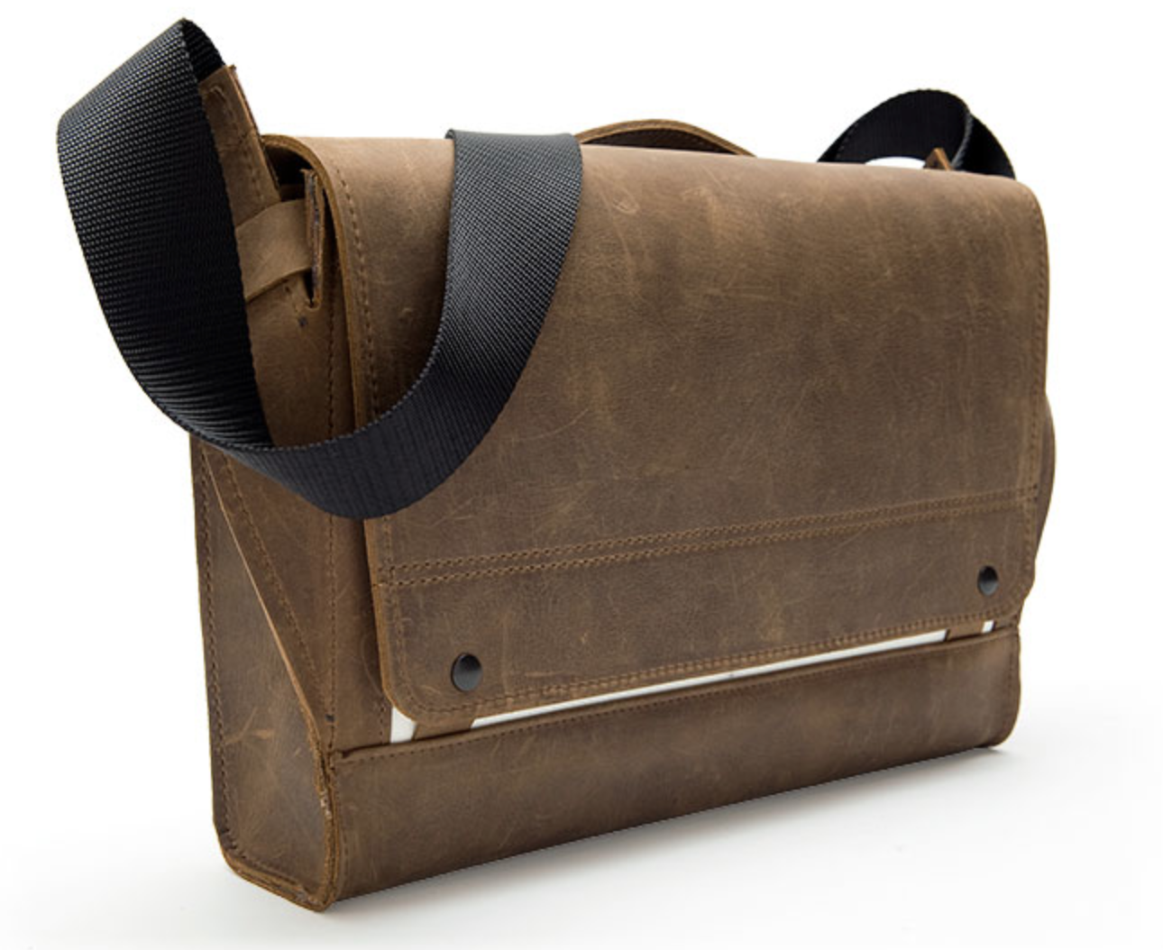 GearDiary WaterField Designs Unveils Rough Rider Rugged Leather Messenger Bag