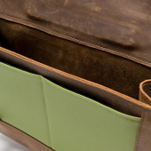 WaterField Designs Unveils Rough Rider Rugged Leather Messenger Bag