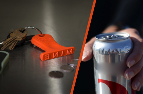 GearDiary Lay Claim to Your Soda or Beer With CanStamp