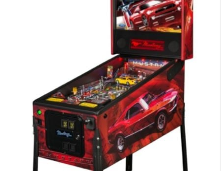 Stern Debuts New Ford Mustang Pinball Games