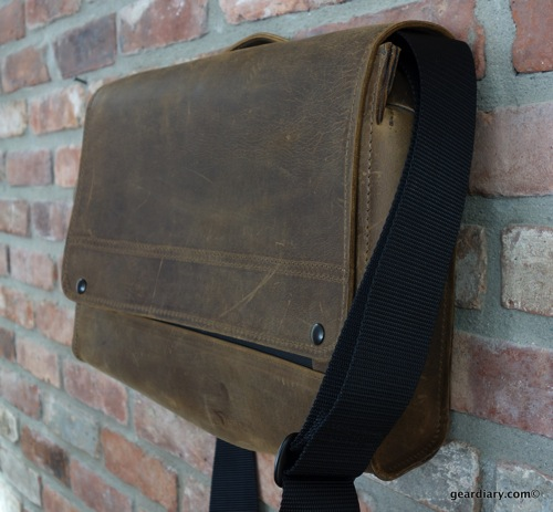 GearDiary Waterfield Designs' Rough Rider Messenger Bag: First Look