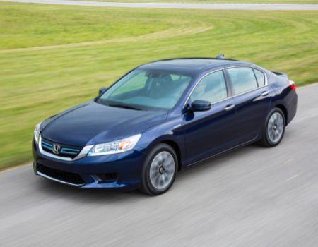 GearDiary 2014 Honda Accord Hybrid Is a Big Green Hit