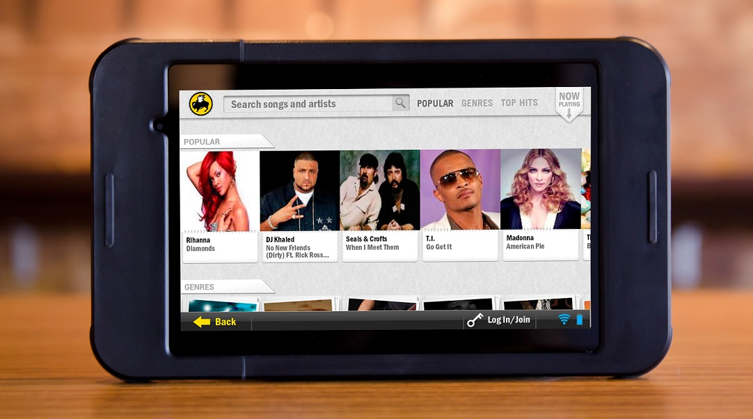 GearDiary BW3 and Buzztime Will Go BEOND with In-Restaurant Tablet Computers