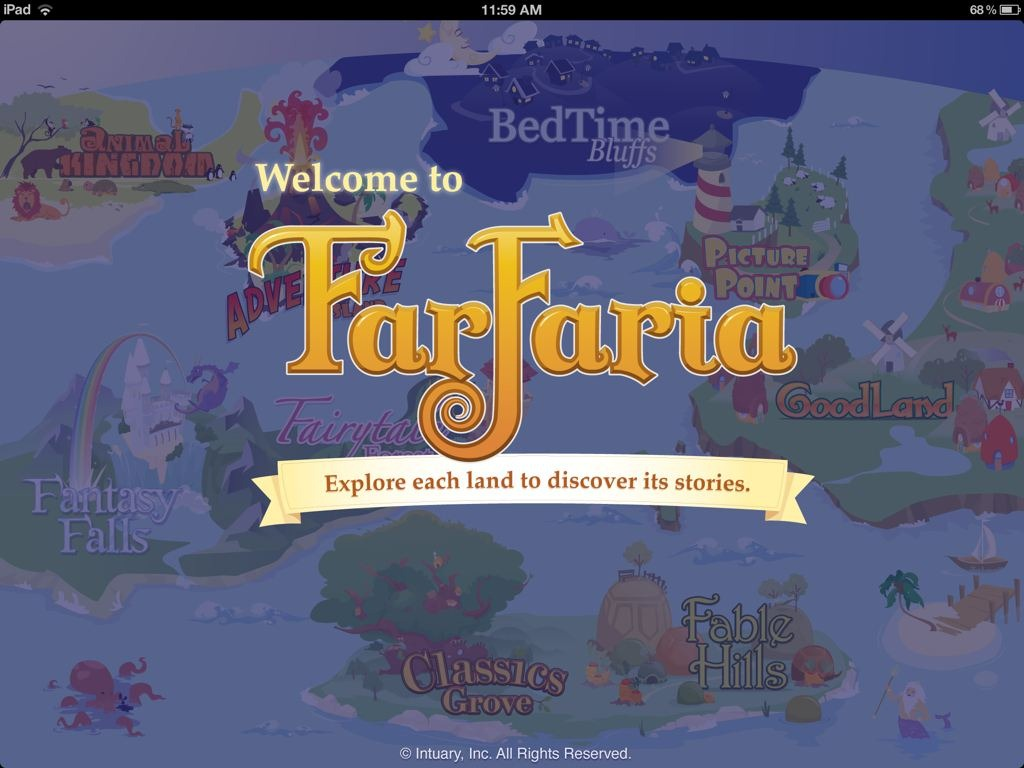 GearDiary FarFaria Children's Book App Now Available on Android