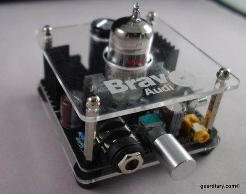 Bravo Audio V2 Tube Driven Headphone Amplifier